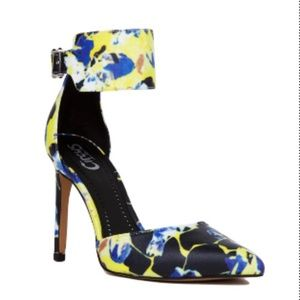 Circus By Sam Edelman Maddy Floral Heels Size 6